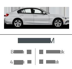 kiralık araç bmw 316