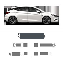 kiralık araç opel astra