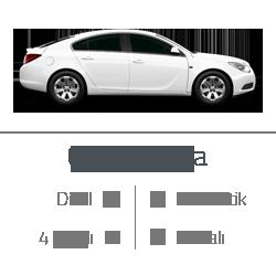 kiralık araç opel insignia