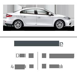 kiralık araç renault fluence
