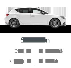kiralık araç seat leon