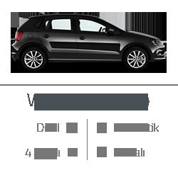 kiralık araç wv polo
